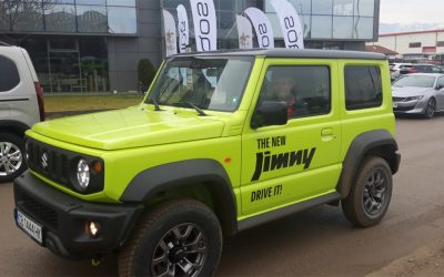 JIMNY е във финалната петица в категория Crossover на конкурса Кола на годината в България 2019