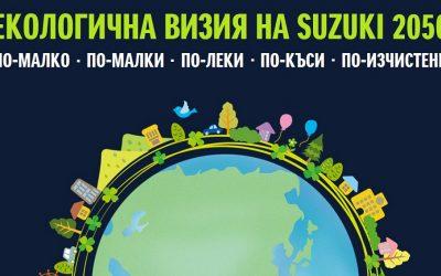 Екологична визия на SUZUKI 2050
